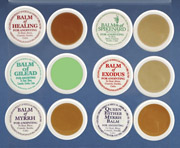 Anointing and Blessing Balms
